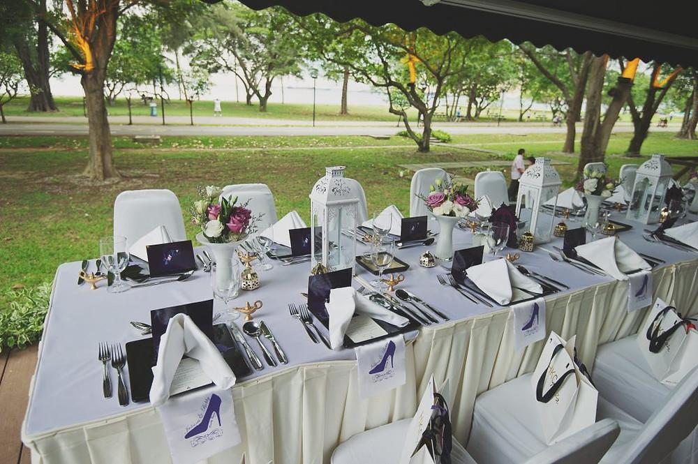 Aladdin Wedding Table