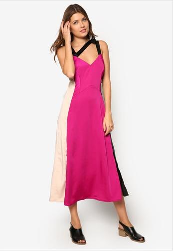 contrast-panel-slip-dress