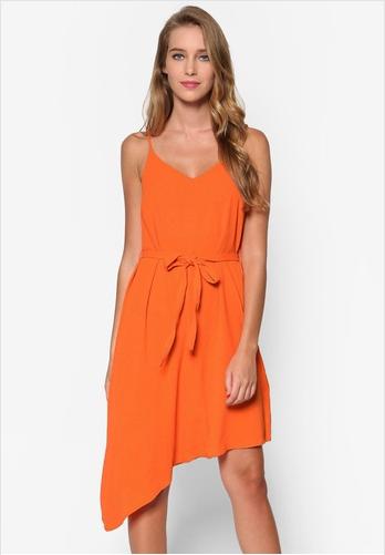 orange-slip-dress