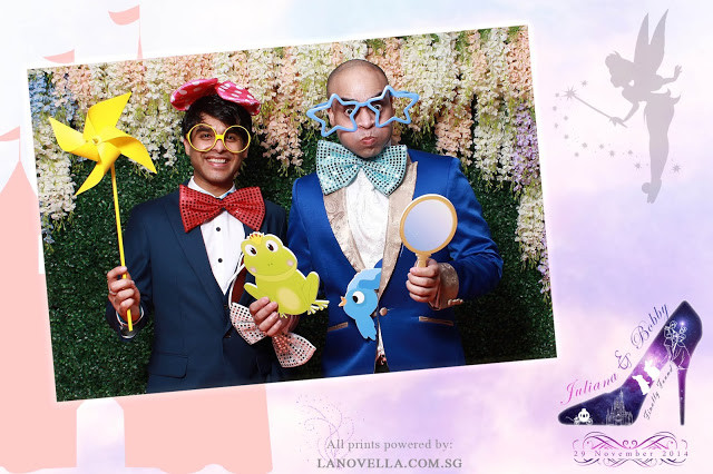 Disney Wedding Photo Booth Singapore