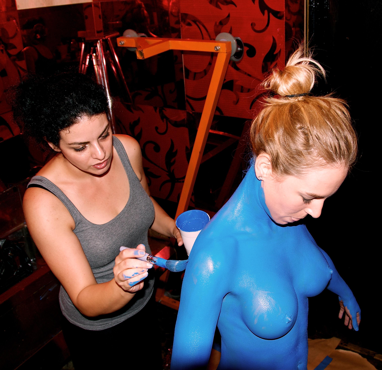 shiri blue body paint mansion.jpg