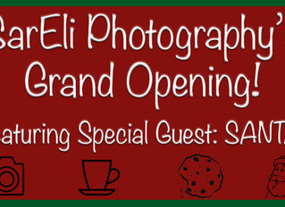 SarEli Photography Opens Studio!