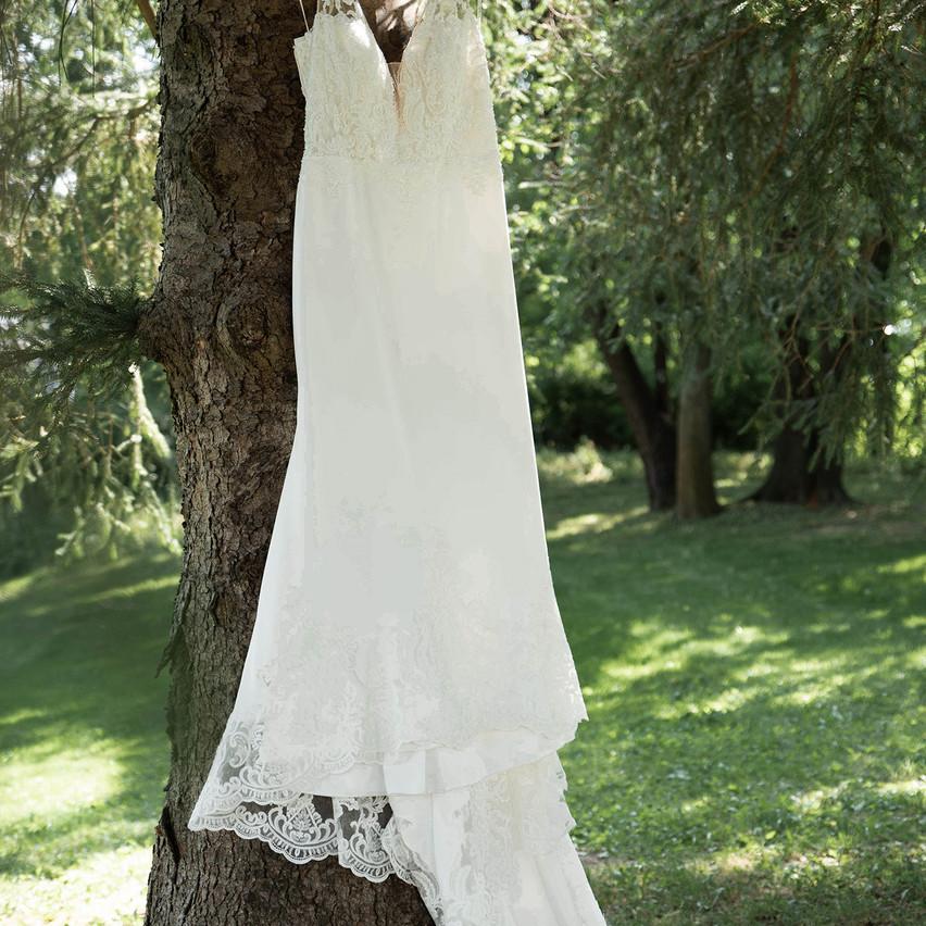 Getting Ready- Wedding Dress