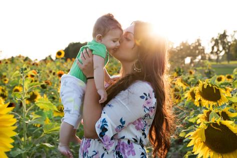 Sunflower Family Session