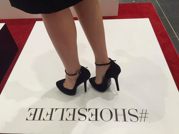 Customers enjoying their #Shoeselfie