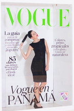 Another of our model @ the Vogue Cover