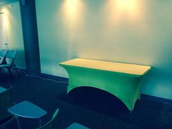 Mesas con licras