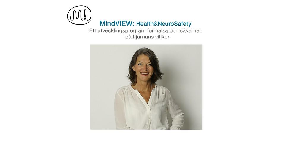 Bindande anmälan - Utbildning i MindVIEW: Health & NeuroSafety med Marie Ryd!
