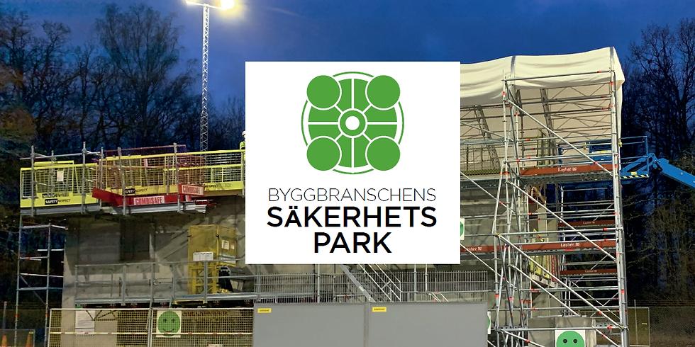 14:e oktober, 2020, Stockholm/Arlanda: Besök hos Säkerhetsparken