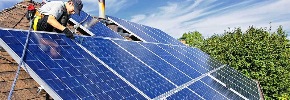 Instalação painéis fotovoltaicos