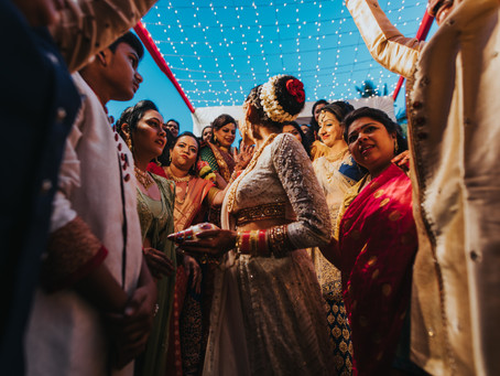 Avani Mitul's Wedding Story