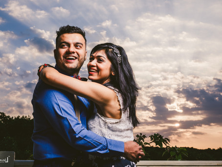 Chintan + Kripali Pre Engagement Shoot