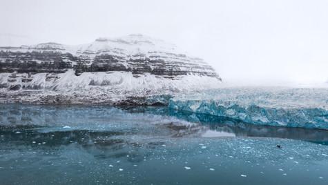 The Tuna Glacier