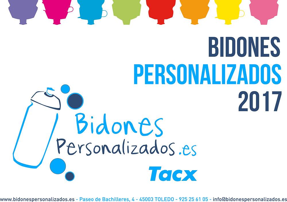 Nuevo catálogo Bidonespersonalizados.es para el 2017