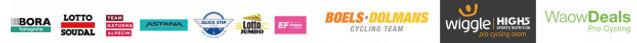 Equipos profesionales de ciclismo que usan los bidones Tacx
