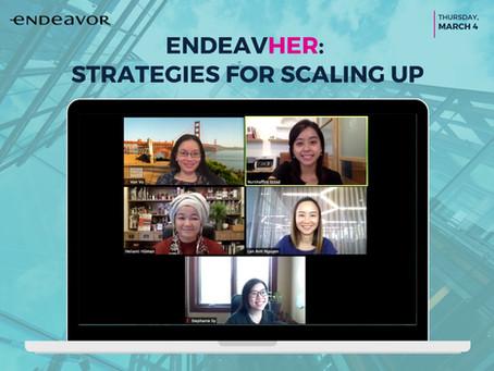 EndeavHER: Strategies For Scaling Up
