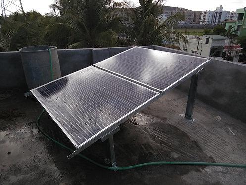 640 WATTS 24 VOLT SOLAR OFFGRID SYSTEM