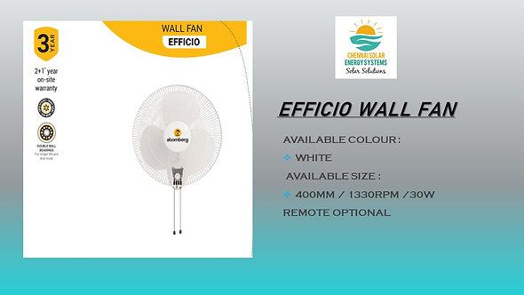 EFFICO WALL MOUNT FAN