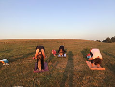 –Outdoor Yoga in Leichlingen