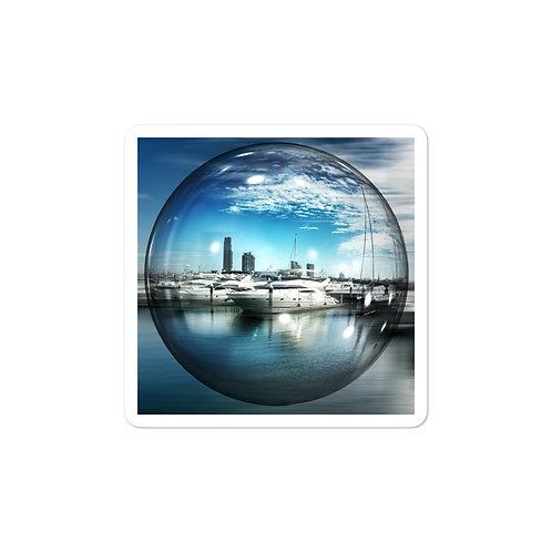 Bubble-free stickers - bubble