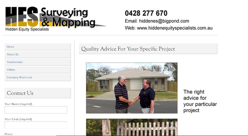 Recommendation: HES Surveying & Mapping(Hidden Equity Specialists) - Rank - 5 Great! (District: QLD)