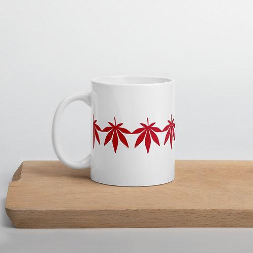 Mug - leaf