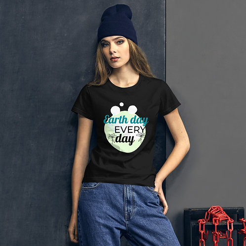 Women's short sleeve t-shirt - Earth Day EveryDay