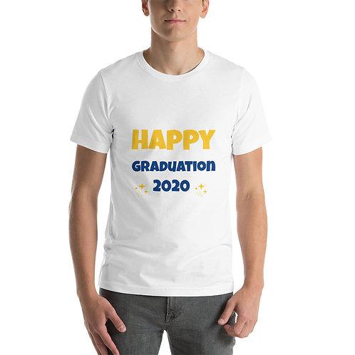 Short-Sleeve Unisex T-Shirt - happy graduation 2020