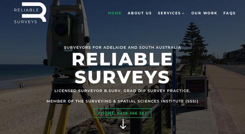 Recommendation: Reliable Surveys Pty Ltd - Rank - 5 Great! (District: SA)