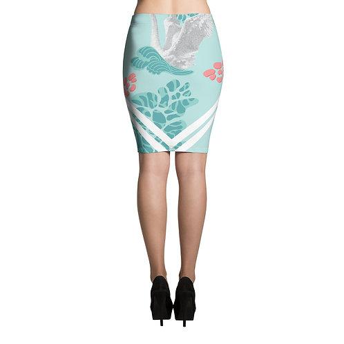 Pencil Skirt -Nature