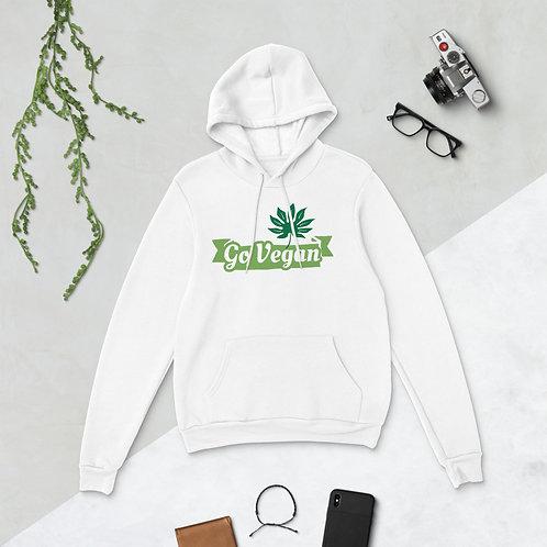 Unisex hoodie - GO VEGAN