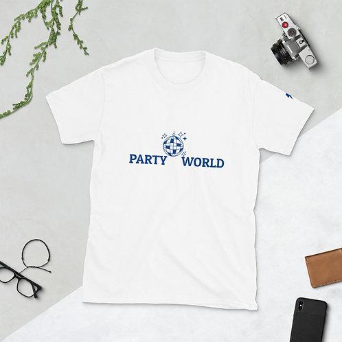 Short-Sleeve Unisex T-Shirt - party world