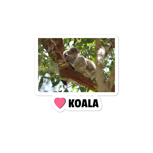 Bubble-free stickers - Love Koala