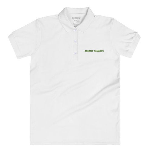 Embroidered Women's Polo Shirt - smart always