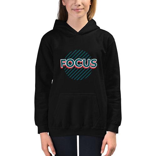 Kids Hoodie - focus