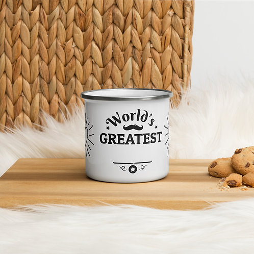 Enamel Mug - WORLD'S GREATEST