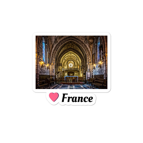 Bubble-free stickers - Love France