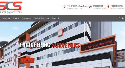 Recommendation: SCS Engineering Surveyors - Rank -  4.8 Very Good! (District: NSW, QLD)