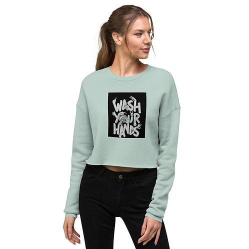Crop Sweatshirt - Wish Your Hands
