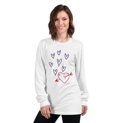 Long sleeve t-shirt - Hearts
