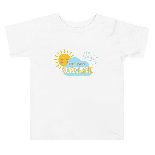Toddler Short Sleeve Tee - our little sunshine