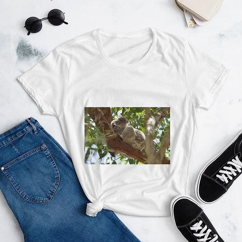 Women's short sleeve t-shirt - koala