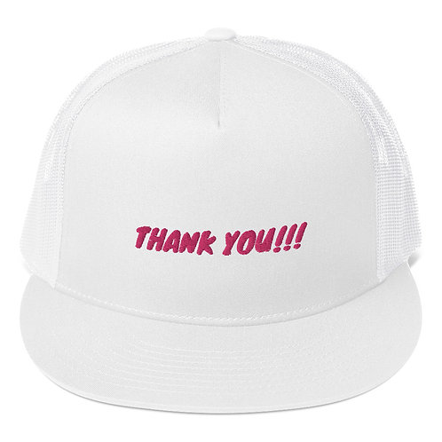 Trucker Cap - Thank You!