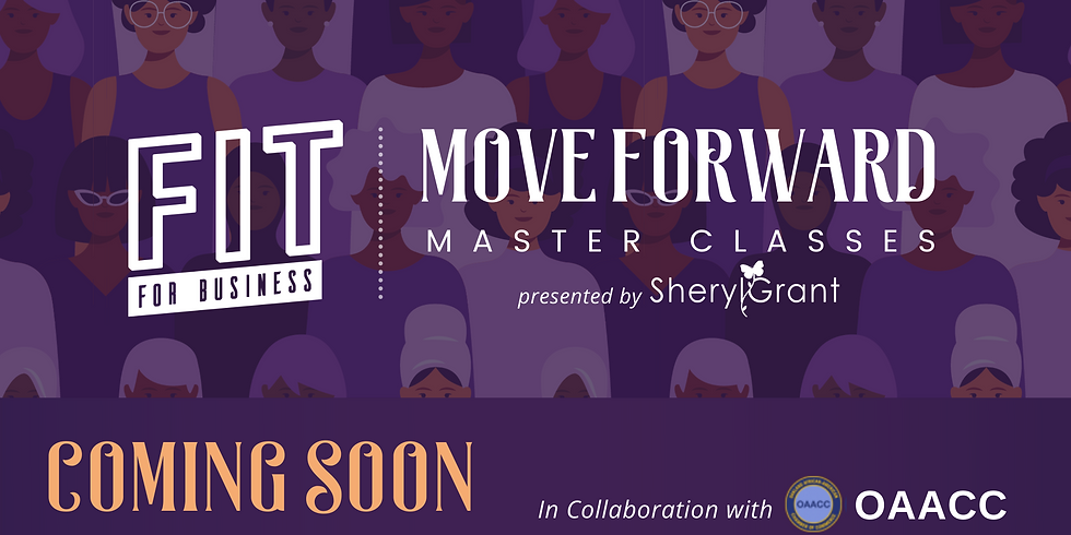 Coming Soon | Move Forward Exclusive Master Classes!