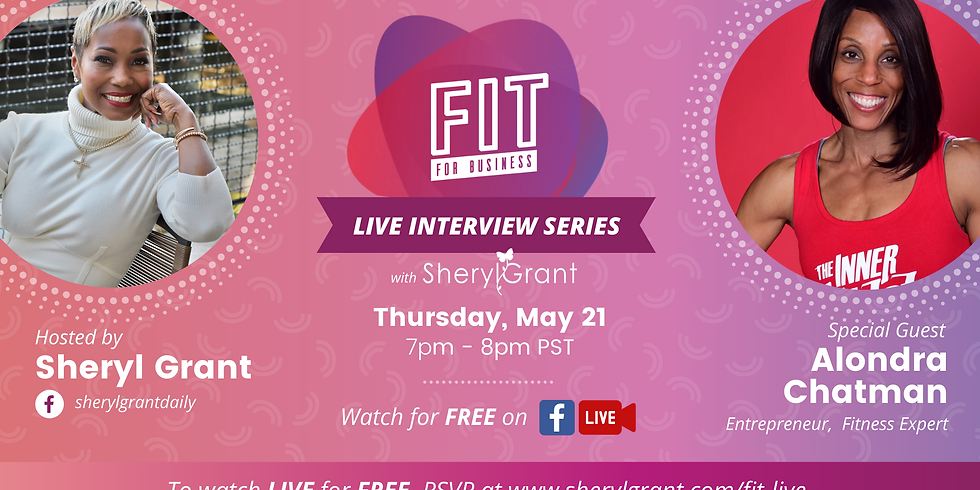 FREE FIT Live Interview | Special Guest: Alondra Chatman