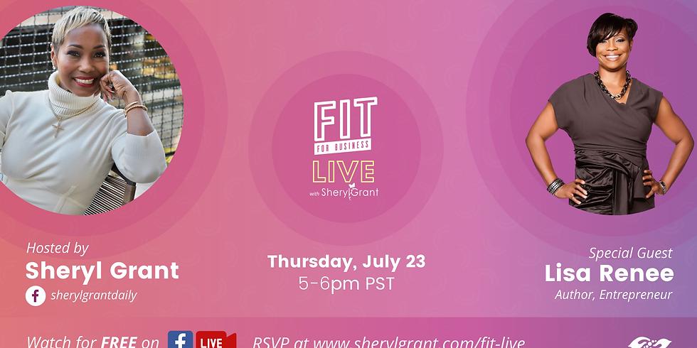 FIT Live Series with Self-Publishing Expert & Entrepreneur Lisa Renee Johnson!