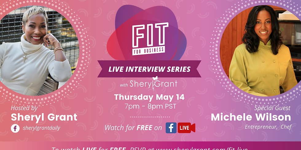 FREE FIT Live Interview | Special Guest: Michele Wilson