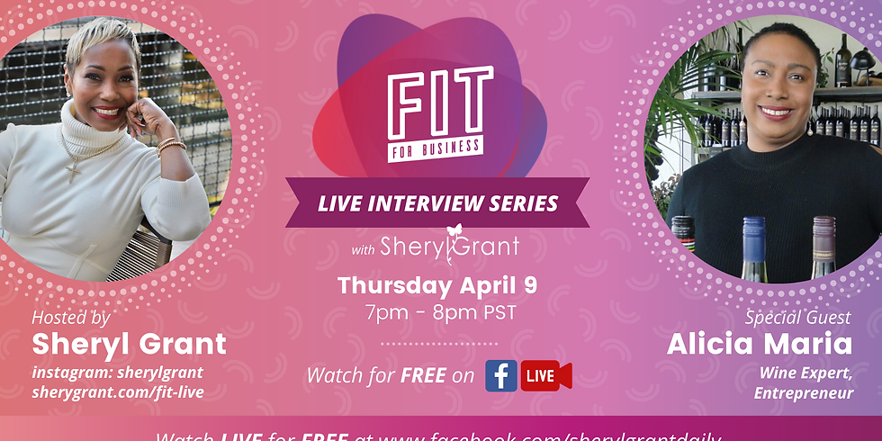 FREE FIT Live Interview | Special Guest: Alicia Maria