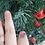 Thumbnail: Pink druzy ring, size 10