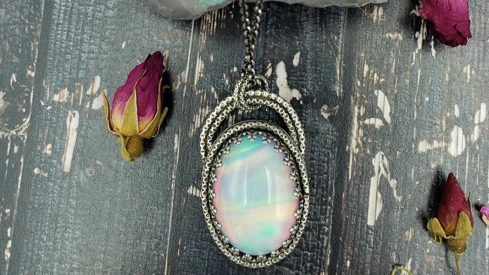 Aurora opal doublet Pendant